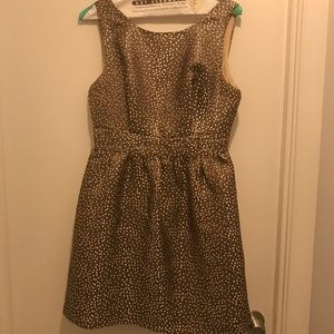Ark & Co Gold Party Dress - Size Small